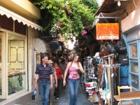 The streets of Rethymno - a paradise for shopping