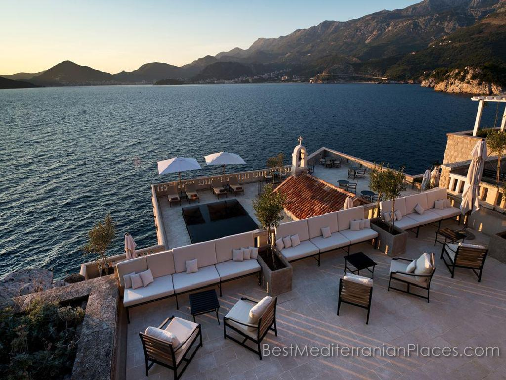 Aman Sveti Stefan, Montenegro - a relaxing atmosphere expensive holiday