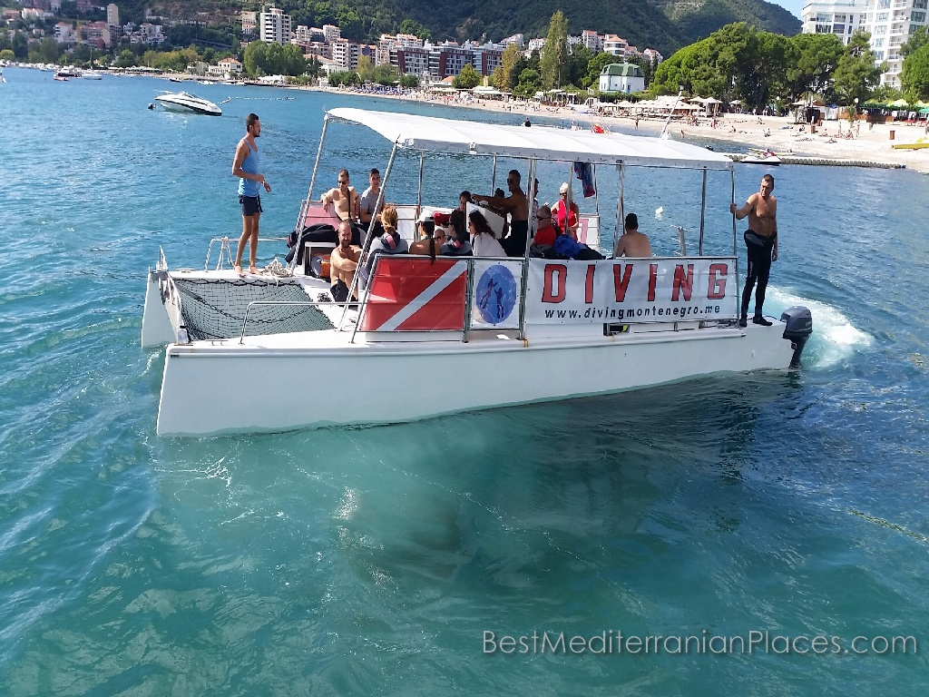 During a vacation in Budva you can take diving course