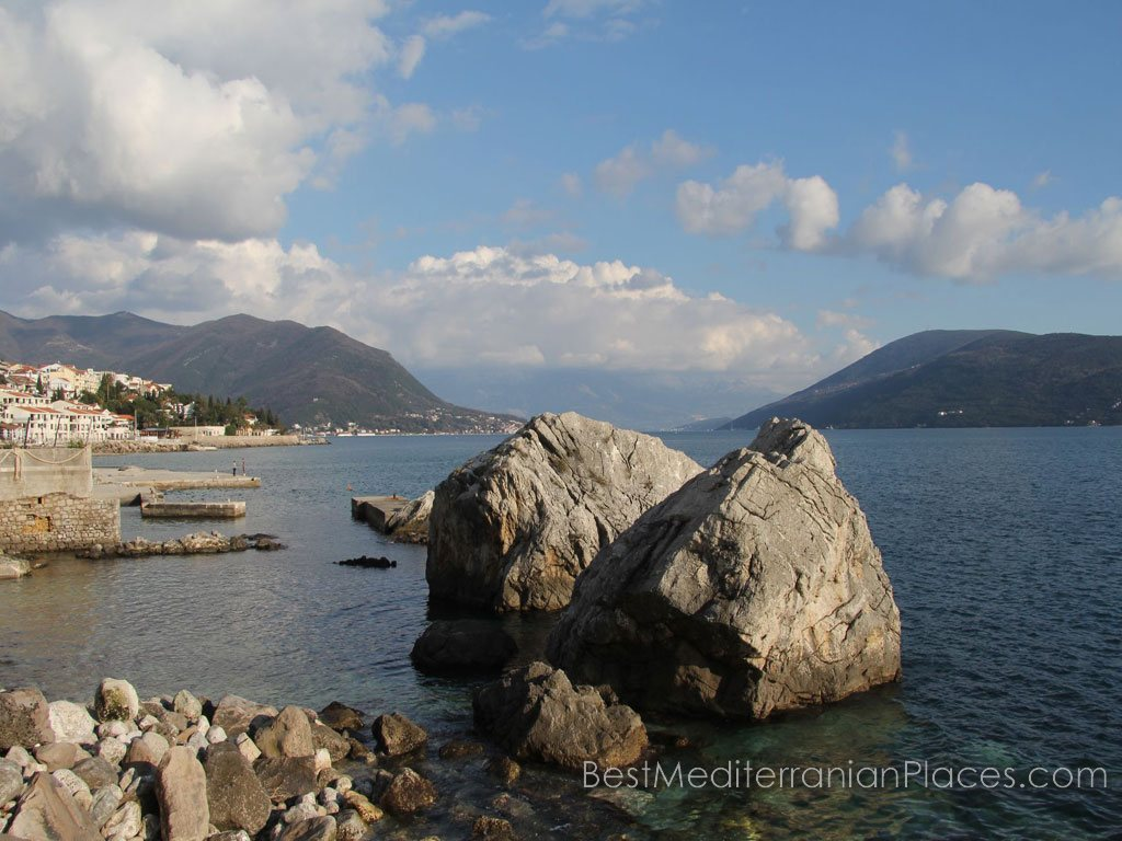 Coast Kotor Bay are very picturesque