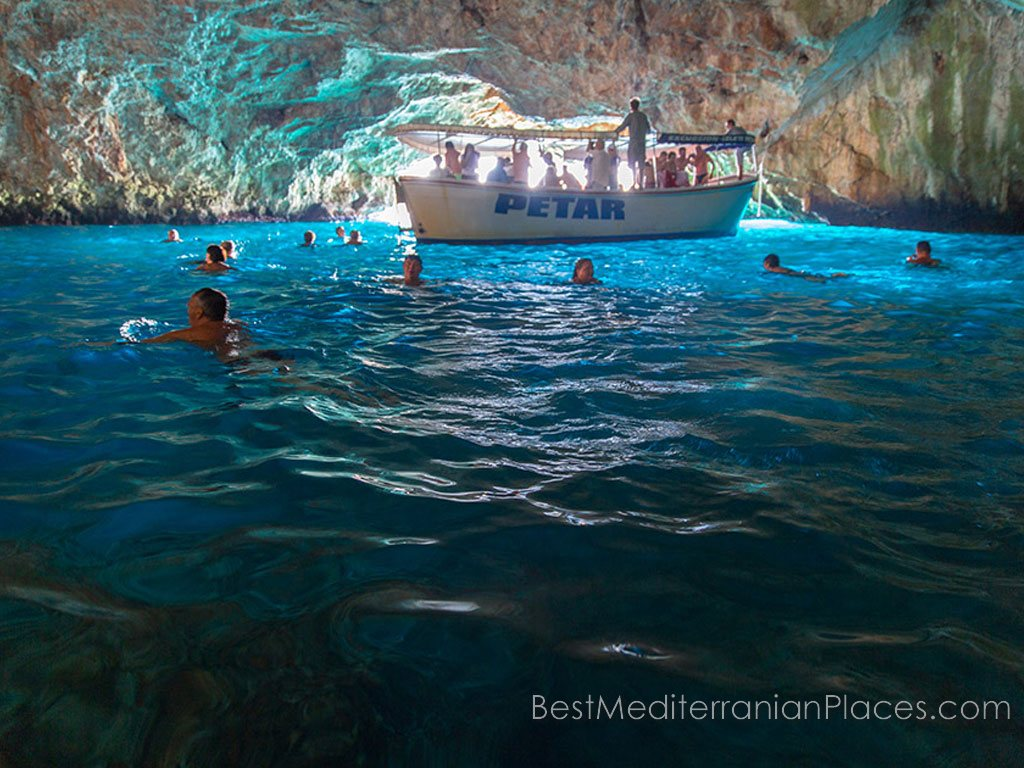 Do you want to swim in the Blue Cave? You are welcome!