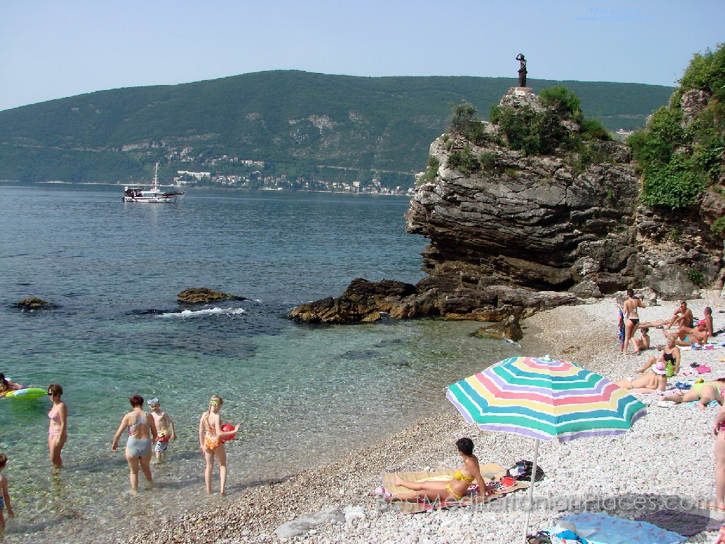 Almost the entire coastline of Herceg Novi is a chain of large and small beaches