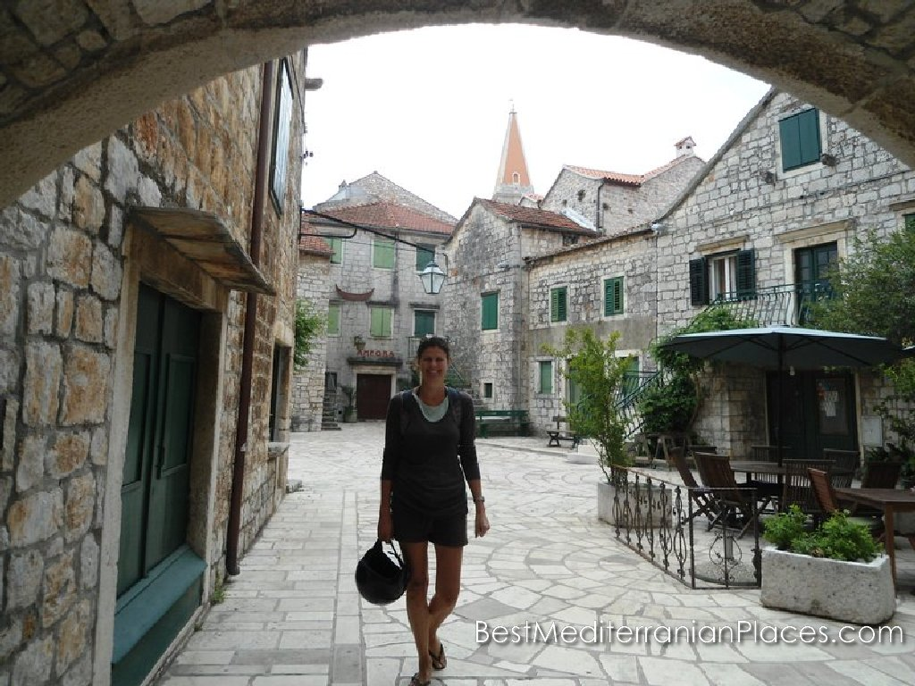 Walking through the old town leave an unforgettable impression