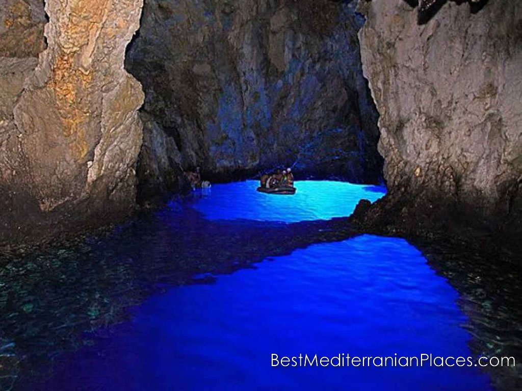 An unforgettable sight. Blue cave is to see with your own eyes