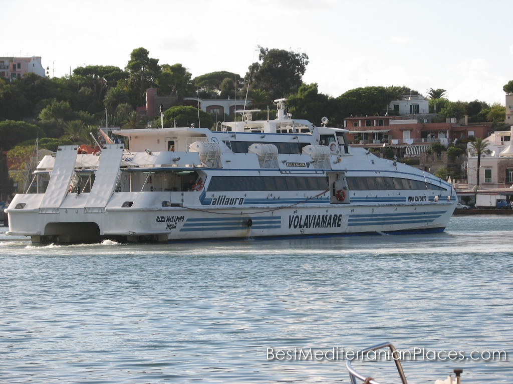 Passenger ferry starts to Naples and Sorrento