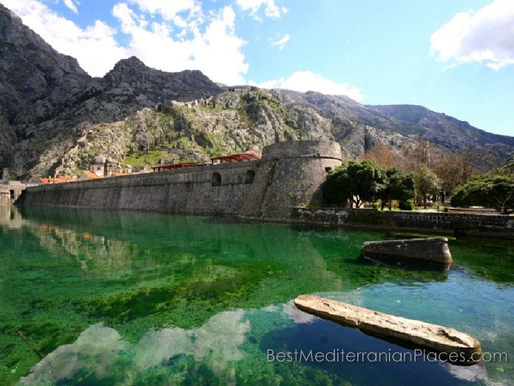 Have you seen such a beautiful sea and a historic town surrounded by ramparts in one place? No? Then go to a resort in Montenegro!