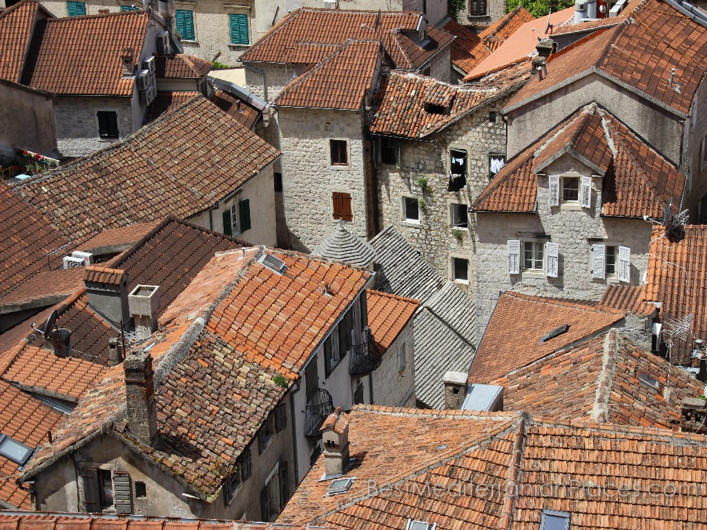 Roofs of old who remembers all.