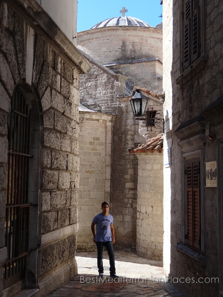 Taking a walk along the shady and narrow streets, you can get lost in time