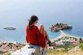 The best resorts of Montenegro at your feet!