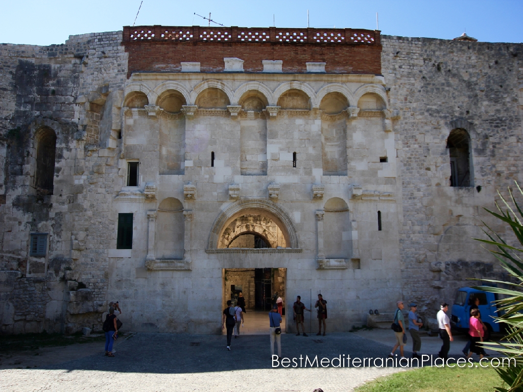 Golden gate - north entrance to Diocletian's Palace