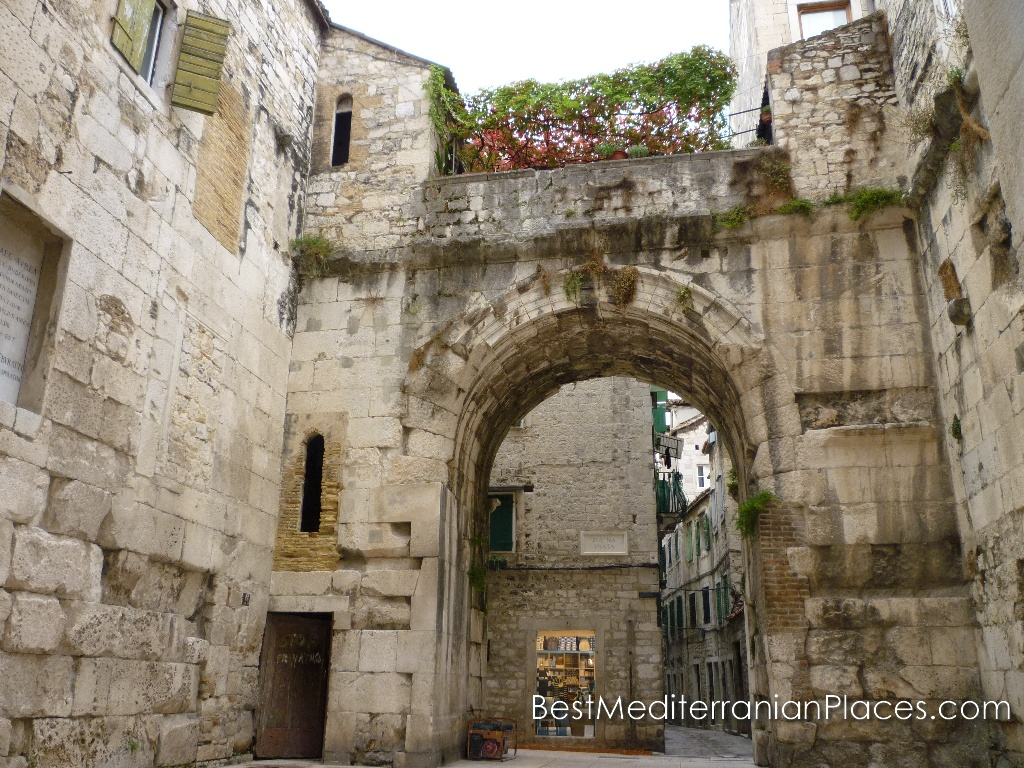 North gate into Diocletian's palace