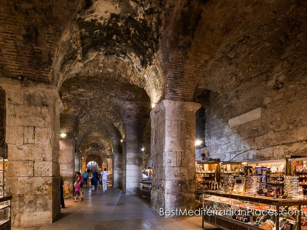 Diocletian's Palace's underground