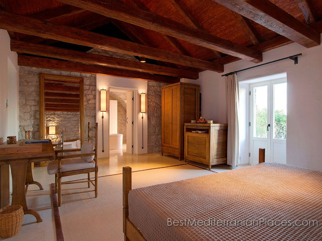Interior Style Villa Milocer rooms designed in strict accordance with the canons of rigor, simplicity