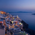 Fira (Thira) - the capital of the Santorini