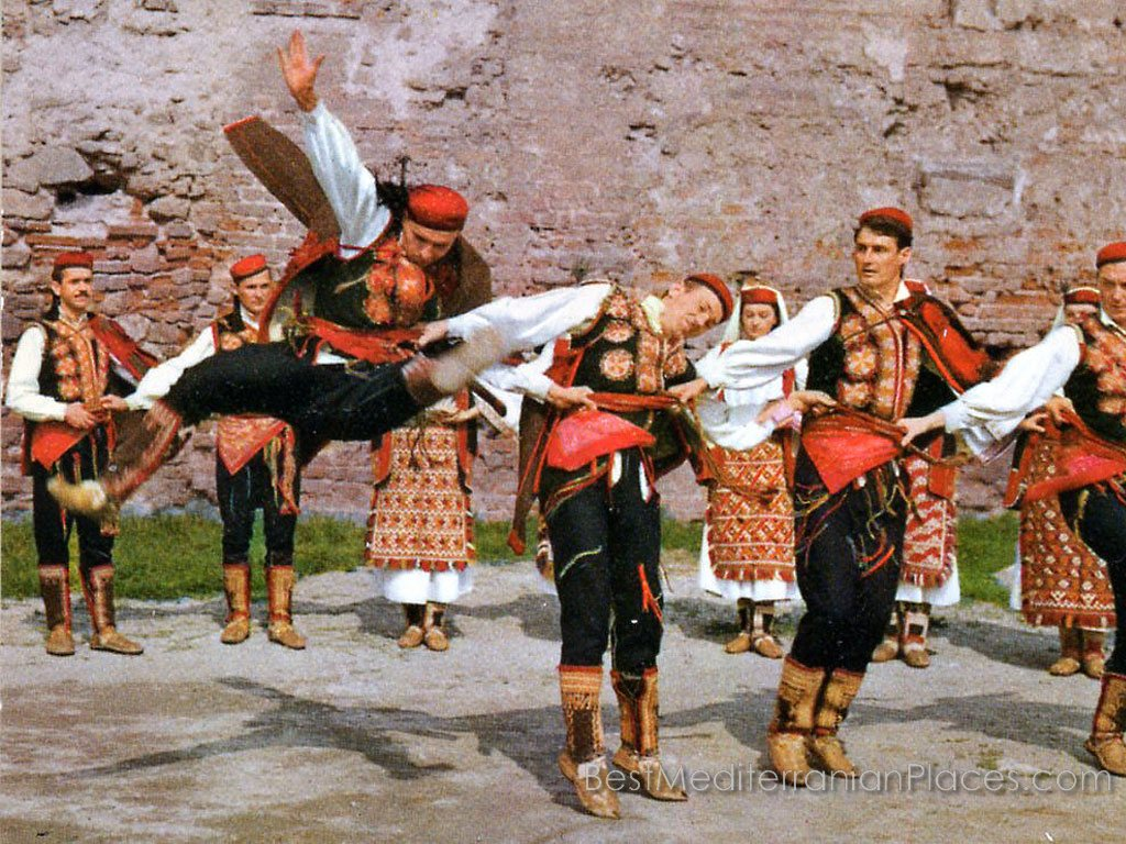 The Croatian national dance ensemble