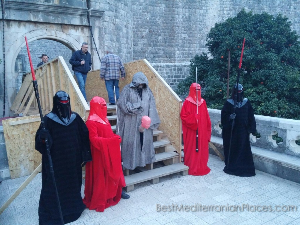 Medieval show continues on the streets and in the fortress of Dubrovnik