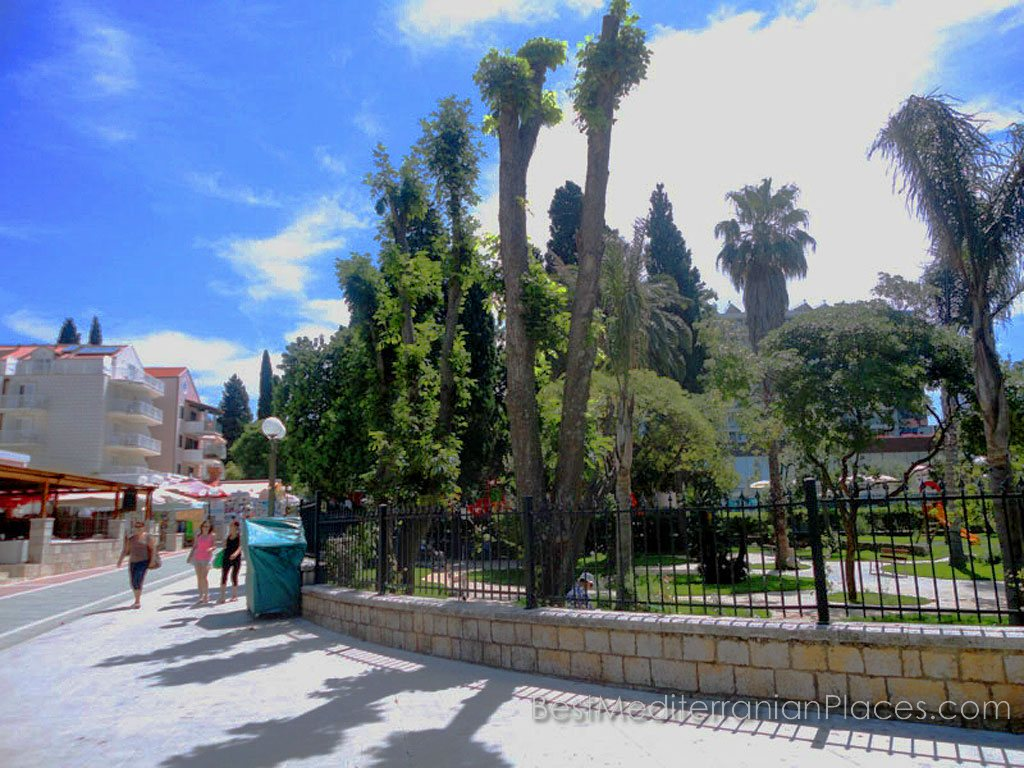 The Promenade in Lapad