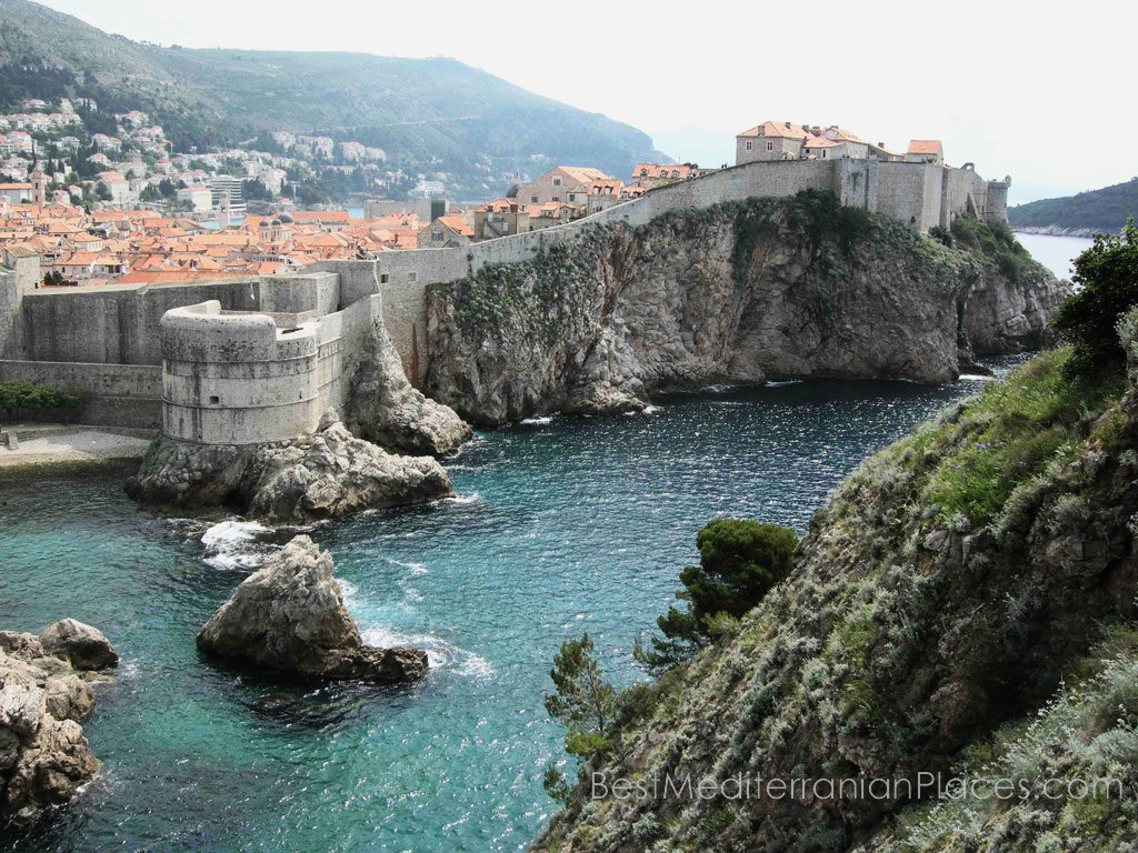 Dubrovnik old city walls have seen many things in his life
