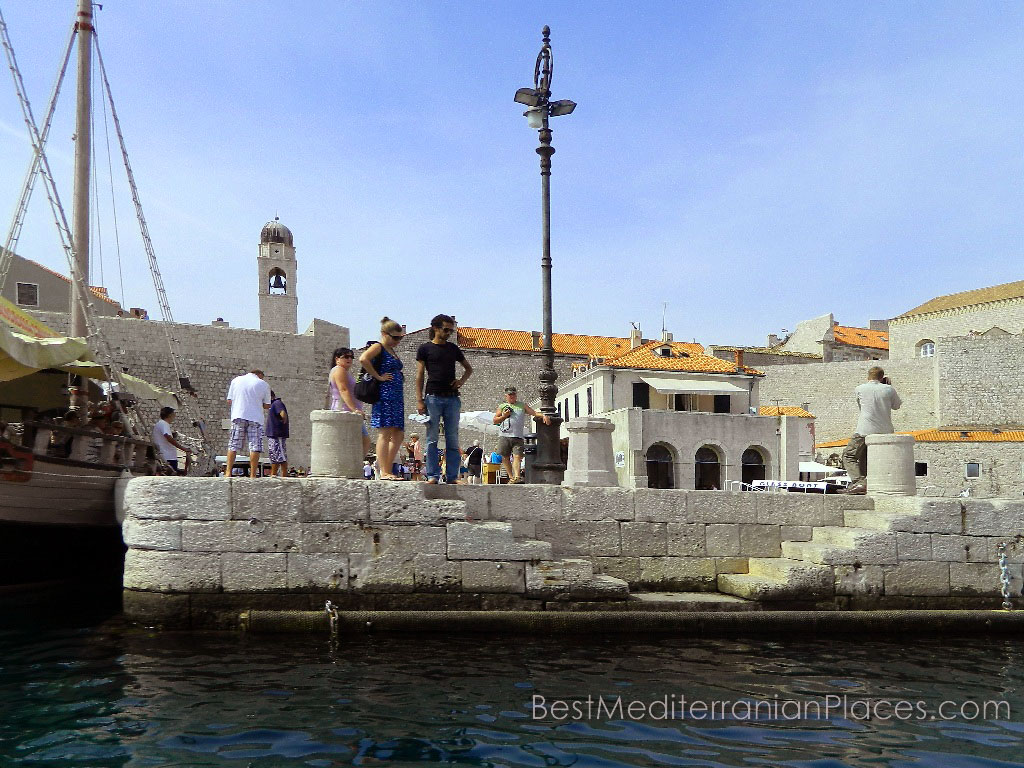 In the Middle Ages to the jetty moored ships of Venetians