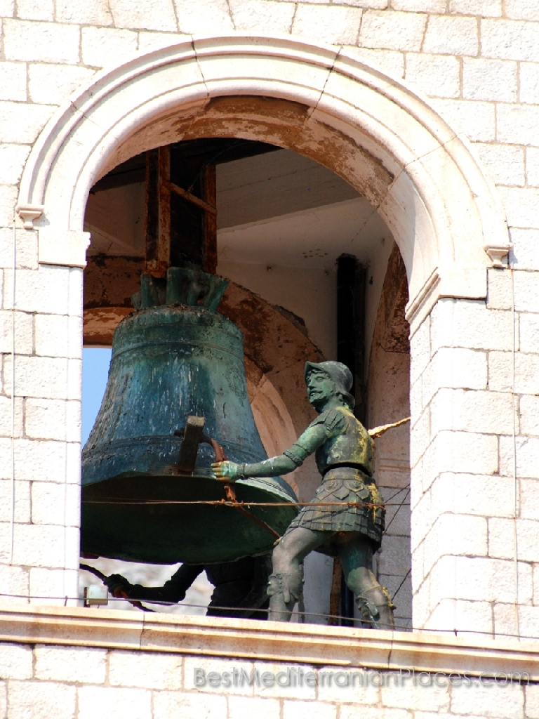 Bell tower of old Dubrovnik